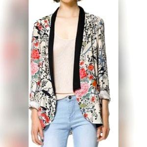 Zara Kimono Style Blazer SZ XS